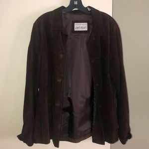 VINTAGE Lord and Taylor exclusive suede jacket